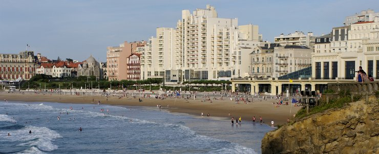 location appartement biarritz