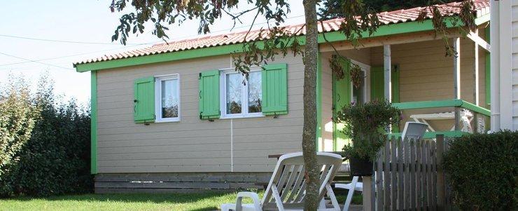 location chalet Normandie