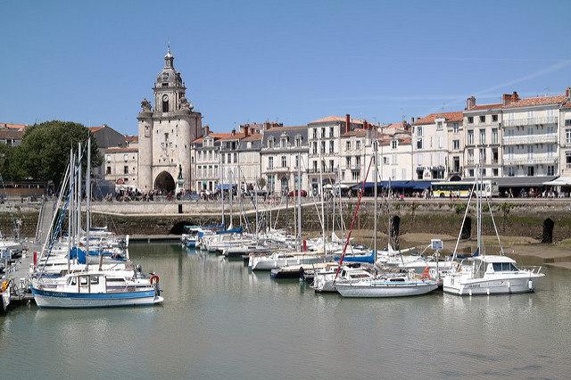 Photo du port de La Rochelle